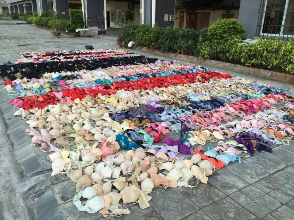 Lingerie-obsessed man caught when 2,000 panties fell from ceiling