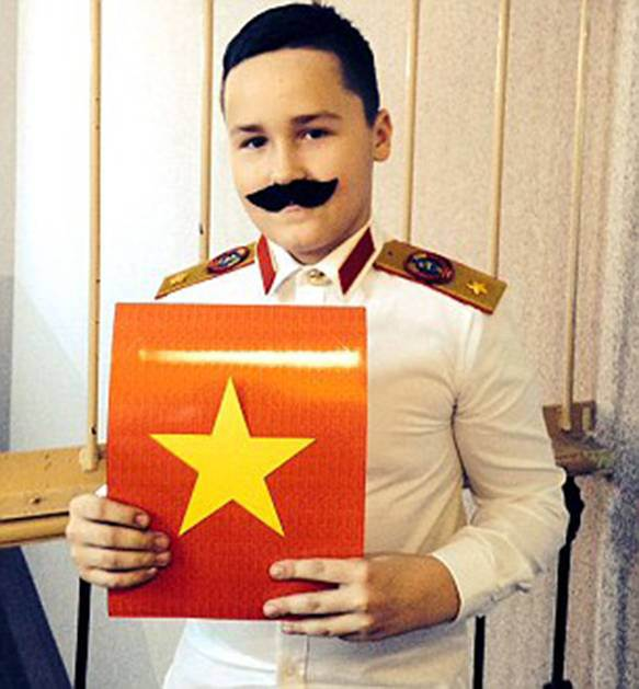 Schoolboy performs in nativity play dressed as Soviet dictator because he mixed up Josephs