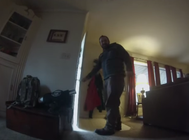 Dog collar video captures what home alone pet get ups to