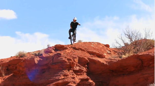 Thrill-seekers take on Utah mountain on unicycles
