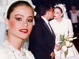 Sofia Vergara the blushing teen bride walks down the aisle in unearthed pictures from Colombian wedding to childhood sweetheart (and she hasn't aged in 24 years)