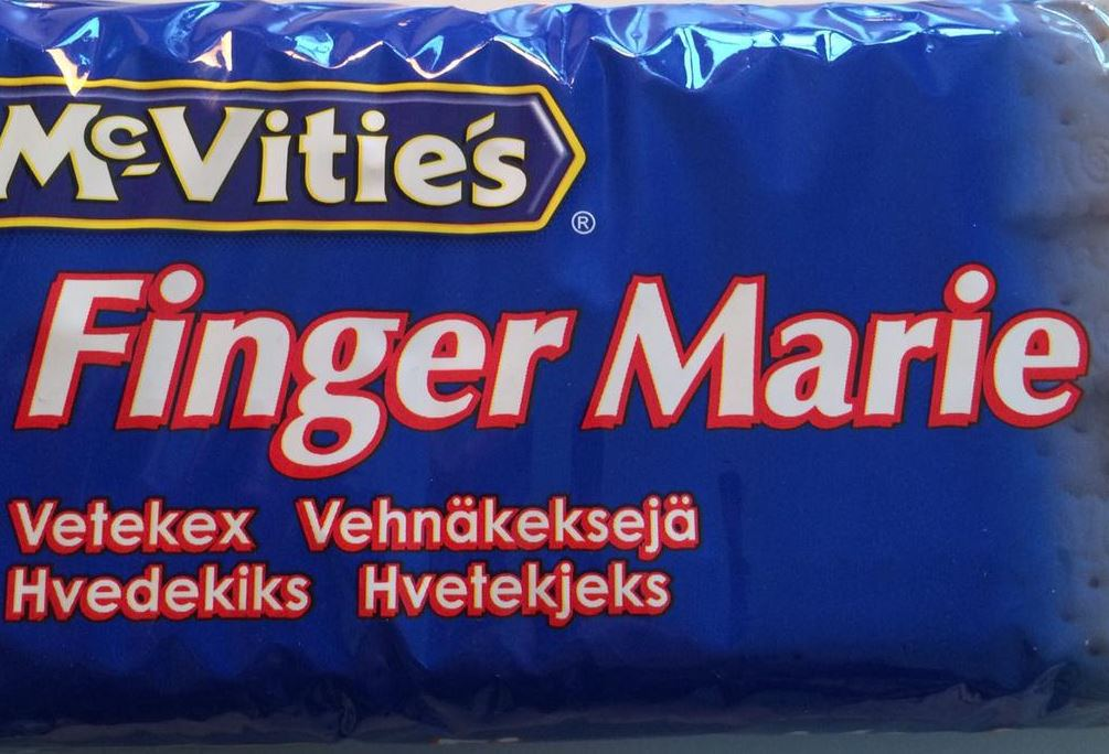 Is your name Marie? Then you're not going to like McVities Sweden's Rich Tea Biscuit