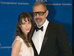 'It's a boy!' Jeff Goldblum reveals he is going to be a first time father at 62 as new wife Emily is expecting
