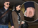Robin Wright, 48, is seen holding hands with Ben Foster, 34, just  two months after calling off engagement