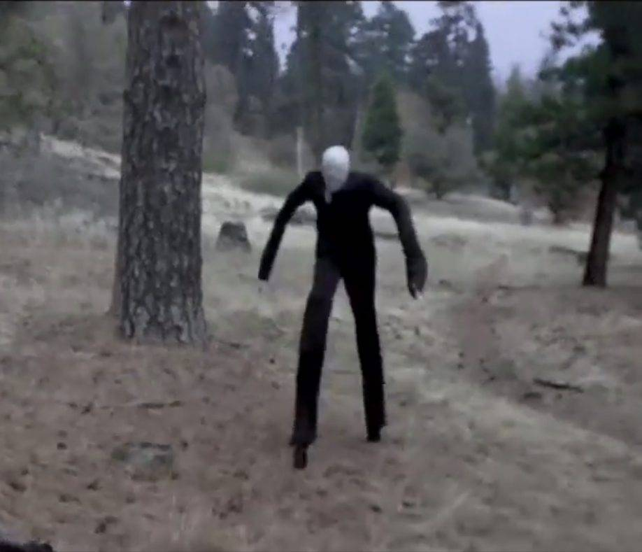 Ghostly sightings of Slender Man reported in UK town