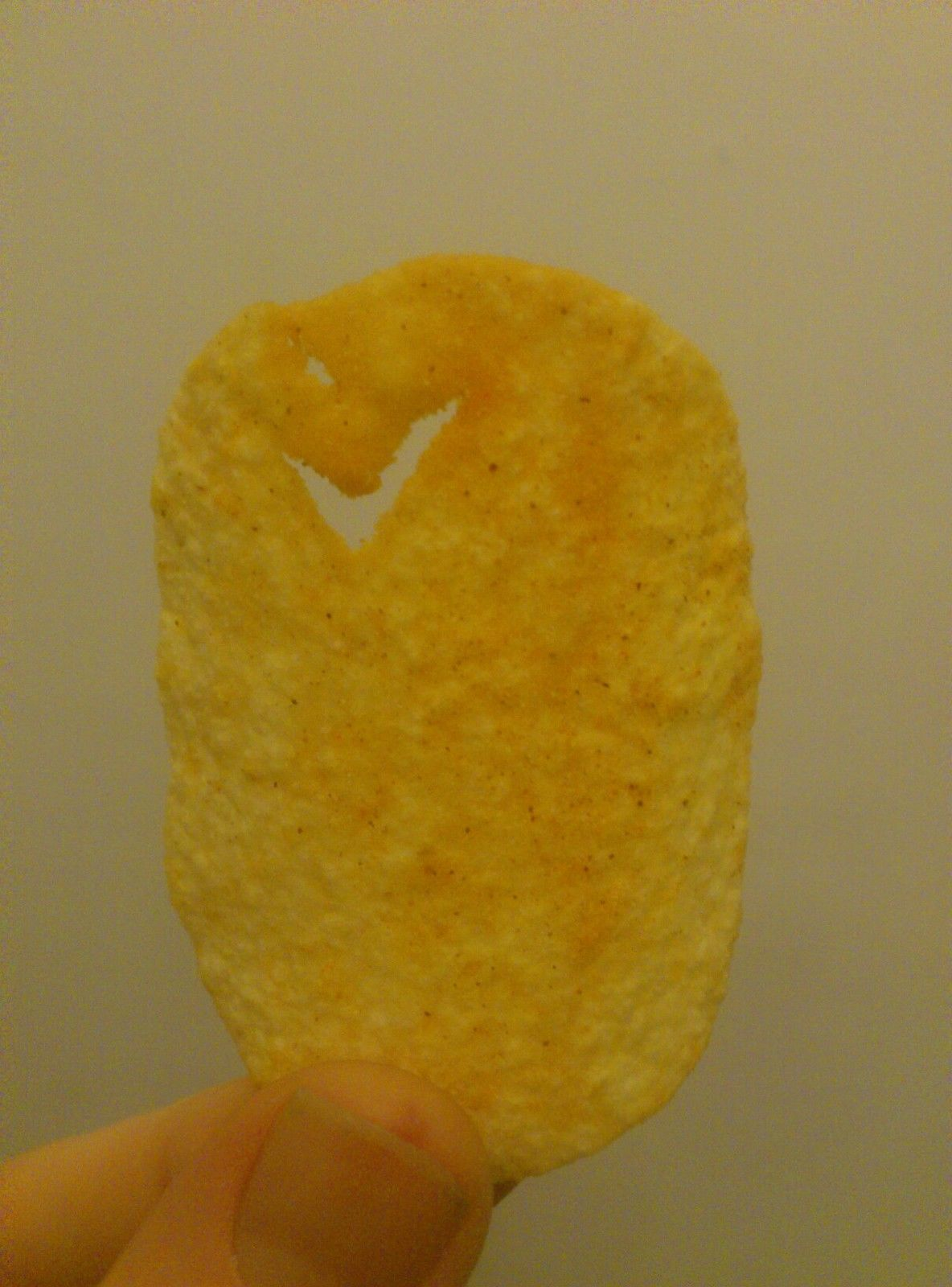 Someone is actually selling a crisp with a 'Nike tick' in it on eBay