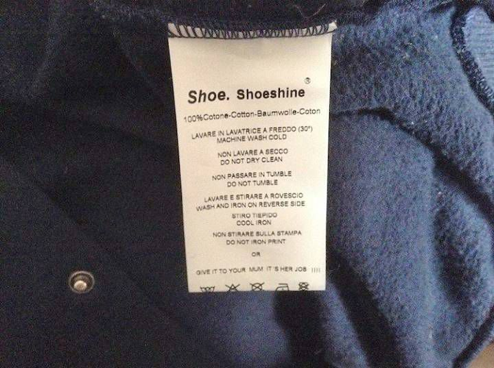 'Give it to your mum to wash, it's her job': Clothing label slammed as 'sexist'