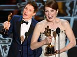 Julianne Moore and Eddie Redmayne take the top acting Oscars while Birdman flies off with Best Picture at the 87th Annual Academy Awards
