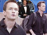Neil Patrick Harris looks downcast day after his Oscar hosting performance