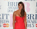 Brit Awards 2015: Melanie Sykes Sports Sheer Dress On The Red Carpet (PICS)