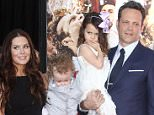 Vince Vaughn's wife Kyla and their two children make rare appearance