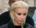 Kim Kardashian Debuts New Blonde Hair At Paris Fashion Week (PICS)