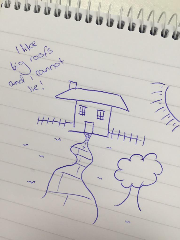 Doodle Day: What does your drawing of a house say about you?