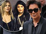 Kris Jenner in man's suit after acting like a teen with Kim Kardashian and Kendall