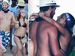Patrick Schwarzenegger denies romance with bikini-clad girl he was pictured sharing intimate embrace with