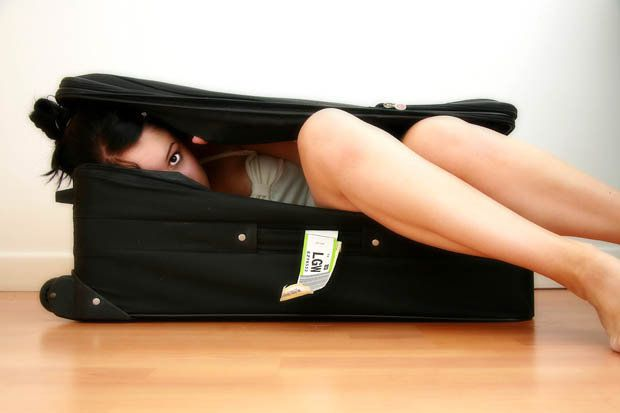 Man tried to smuggle wife into EU in suitcase (and she could have just sat next to him)