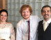 Ed Sheeran Surprises Couple With Wedding Performance Of 'Thinking Out Loud' (PICS, VIDEO)