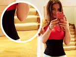 Lindsay Lohan ridiculed on Twitter for photoshopping her waist