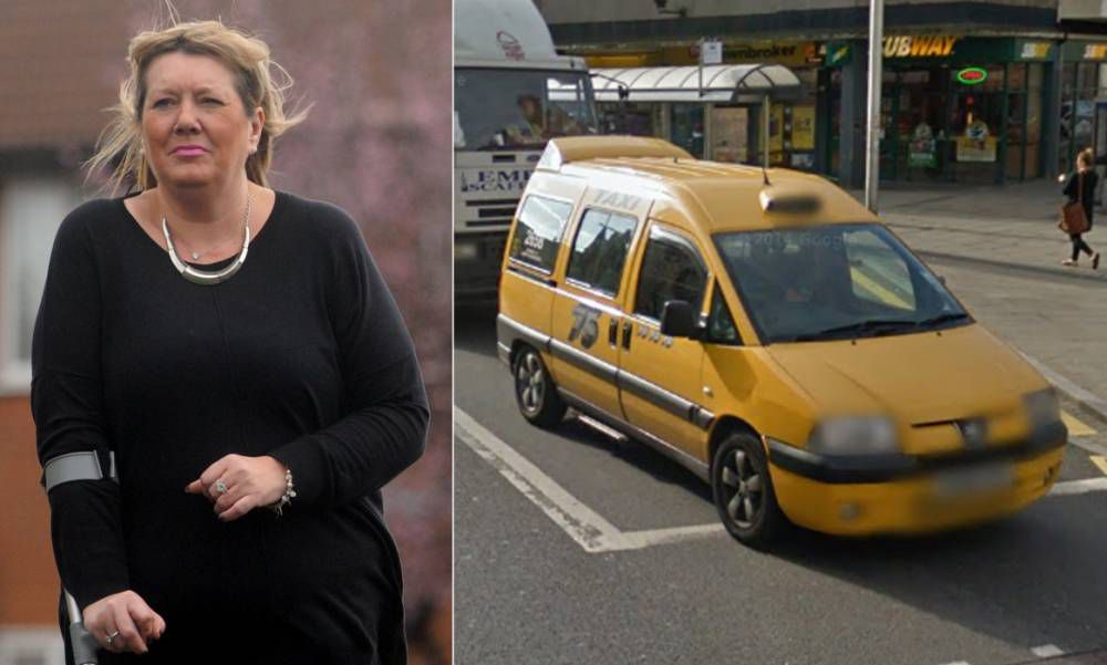 Mother terrified of yellow after being hit by brightly coloured taxi