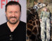 Ricky Gervais Steps Up Row Branding Trophy Game Hunters 'Murdering Scum'