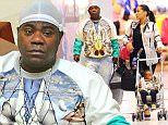 Tracy Morgan continues to use his cane nearly one year after horror car crash as he joins fiancée and child for a shopping trip