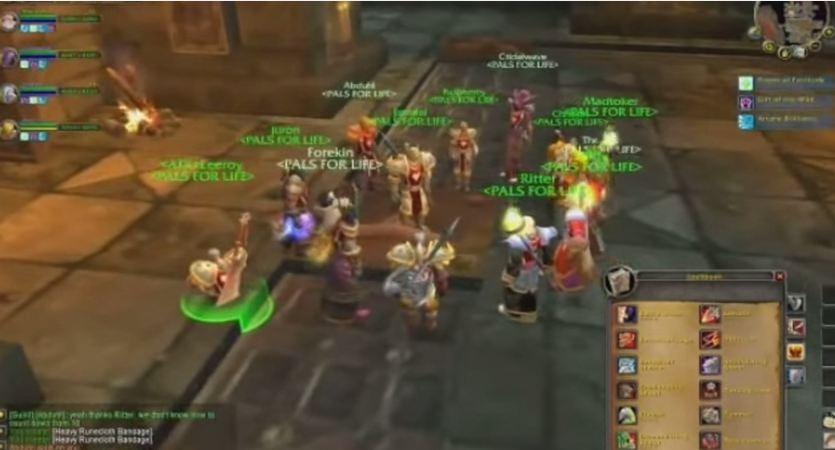 That Leeroy Jenkins Warcraft video is ten-years-old