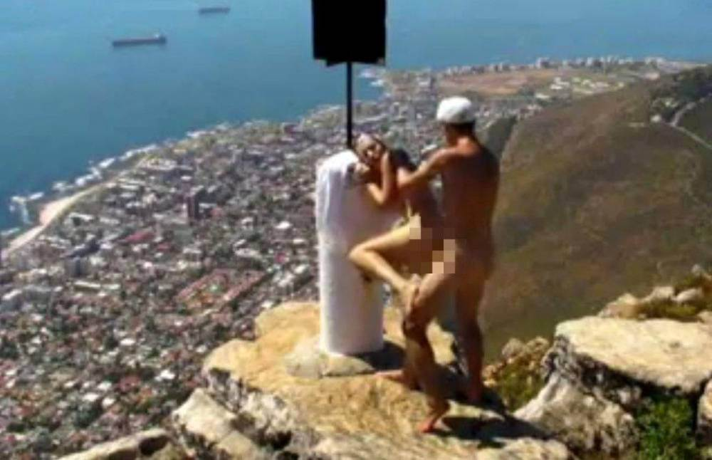 Porn film shot on South African tourist attraction