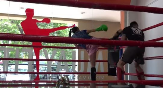 Champion martial arts fighter pretends to be timid newcomer, beats the stuffing out of trainer