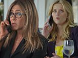 Jennifer Aniston and Reese Witherspoon in Red Nose Day game of telephone