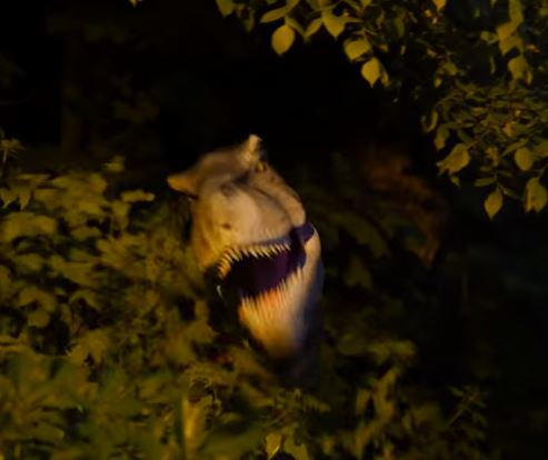 Jurassic whaaat? This is one crazy realistic dinosaur prank