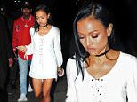 Police called after Chris Brown 'banged and yelled at Karrueche Tran's door'