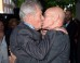 Sir Ian McKellen And Sir Patrick Stewart Share A Kiss On The Red Carpet Of The 'Mr Holmes' London Premiere (PICS)