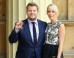 James Corden Receives OBE From Princess Anne At Buckingham Palace Investiture