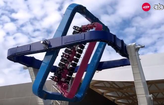 Quite possibly the most vomit-inducing theme park ride ever