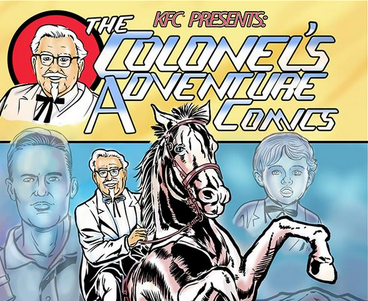 KFC is launching a comic book featuring Colonel Sanders next week