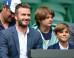 David Beckham Takes Son Romeo To Wimbledon For Some Father-Son Bonding (PICS)