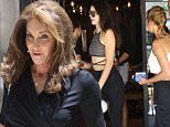 Caitlyn Jenner steps out with daughter Kendall for lunch with Hailey Baldwin