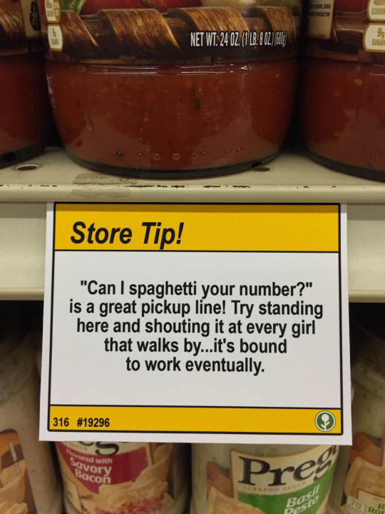 'Pretend your bread is a lightsaber': Someone left these hilarious notes around a supermarket