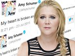 Amy Schumer shares grief on Twitter over Lafayette shooter at Trainwreck screening