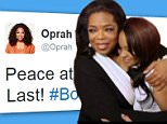 Oprah Winfrey leads tributes to Bobbi Kristina Brown following her death aged 22