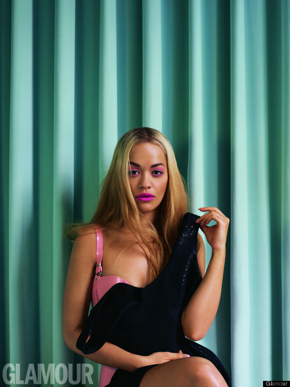 Rita Ora Is A Beyoncé Look-A-Like In New Glamour Magazine Photoshoot (PICTURES)