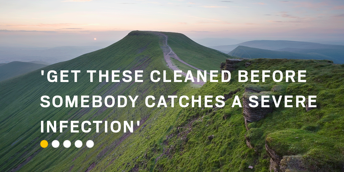 These people weren't impressed with awe-inspiring mountains and complained on TripAdvisor about it