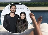 Scott Disick appears to share photos from family house with Kourtney Kardashian