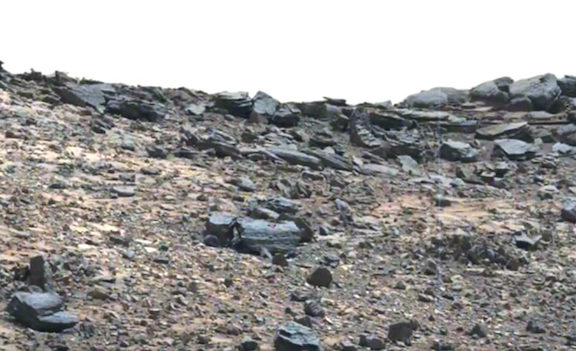 Has an alien 'truck' been spotted by Mars Rover?
