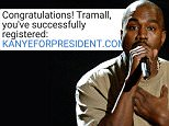 Kanye West's presidential bid started by graduate registering domain 5 MONTHS ago