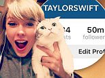 Taylor Swift continues to surpass Kim Kardashian with 50m Instagram followers
