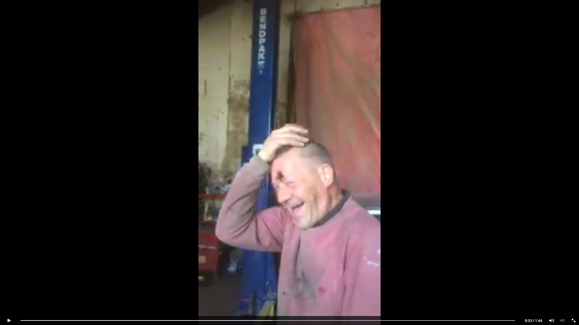 Man balances egg on his head for long time – doesn't realise it's a prank