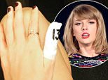 Taylor Swift posts photo of her bandaged thumb after mishap with a kitchen knife