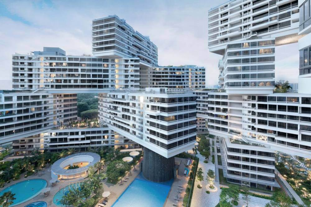 'Vertical village' wins award for world building of the year
