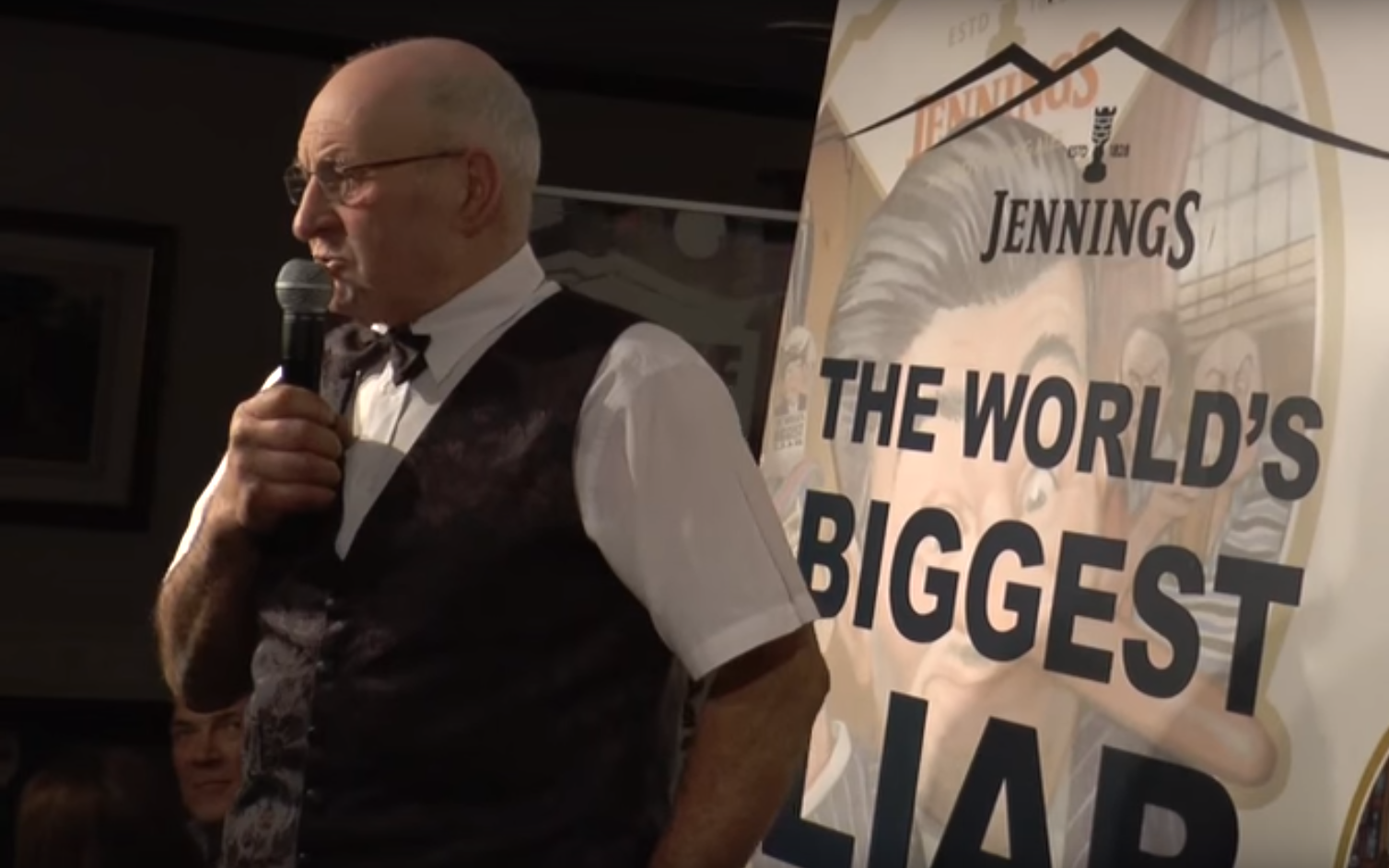 This guy's the biggest liar in the world… and he's proud of it
